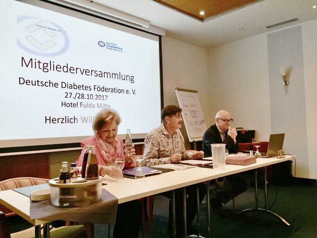 Die dritte Mitgliederversammlung der DDF fand im Oktober in Fulda statt. Wichtige Diabetesthemen der Zukunft wurden dabei diskutiert.